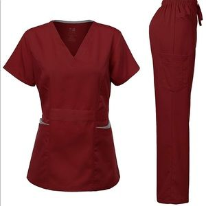 0262 Women's Scrubs Set Stretch Ultra Soft